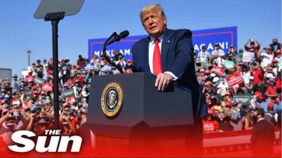 Live: Trump campaigns in Erie, Pennsylvania
