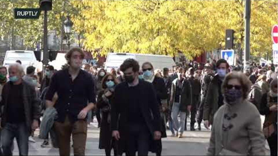 LIVE: Place de la Republique as Parisians mourn beheaded teacher