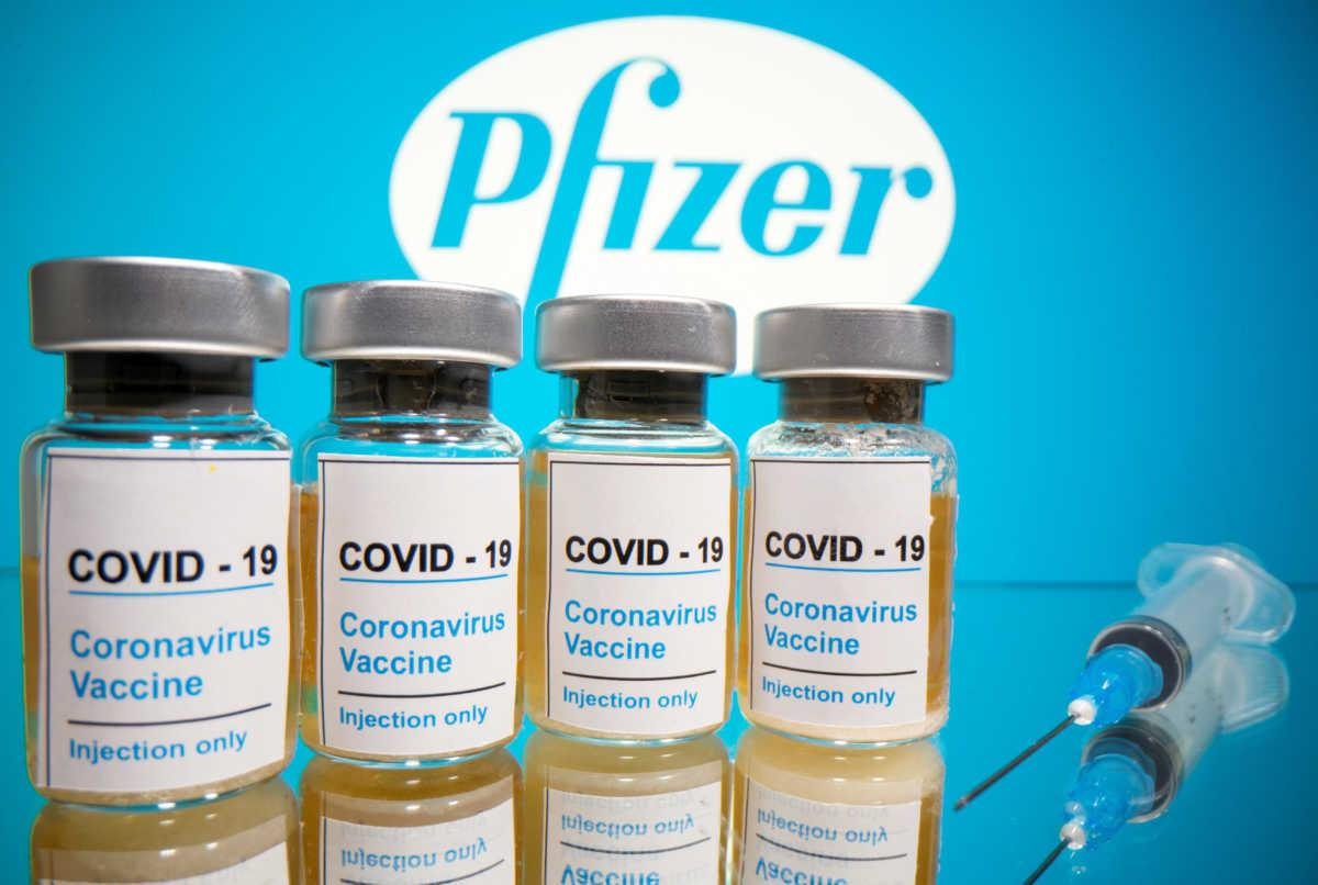 Pfizer εμβόλιο για τον κορονοϊό