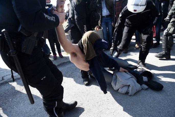 Επεισόδια της Αστυνομίας στο ΑΠΘ