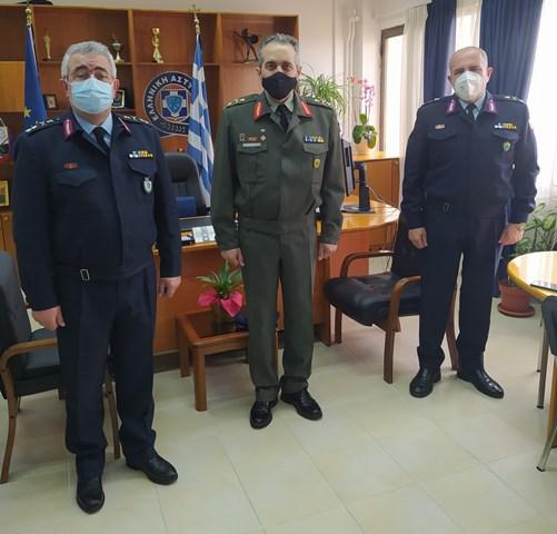 23-3-2021 Εθιμοτυπικές επίσκεψεις στη Γενική Περιφερειακή Αστυνομική Διεύθυνση Δυτικής Ελλάδας