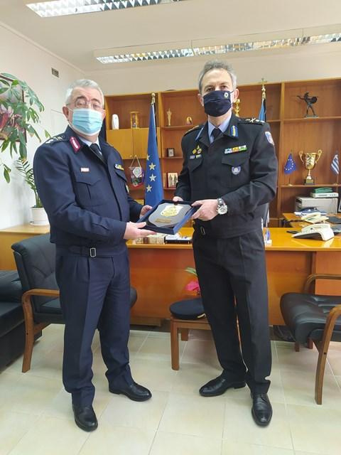 23-3-2021 Εθιμοτυπικές επίσκεψεις στη Γενική Περιφερειακή Αστυνομική Διεύθυνση Δυτικής Ελλάδας (1)