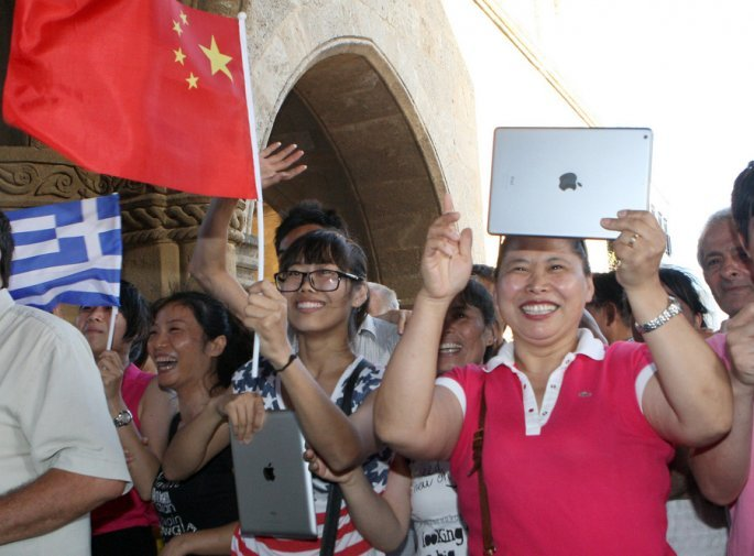Κινέζοι τουρίστες στην Ρόδο